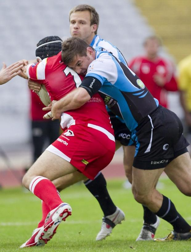 Jason Demetriou, pictured, is chasing a win over Dewsbury tomorrow which will guarantee the Cougars a top-six spot