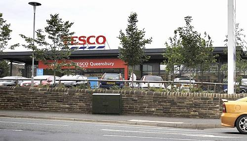 OOPS: The Tesco's  store at Queensbury