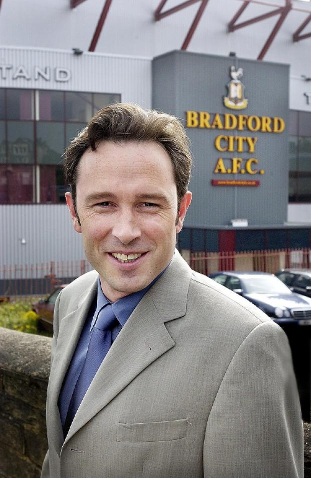 Bradford City joint chairman Julian Rhodes
