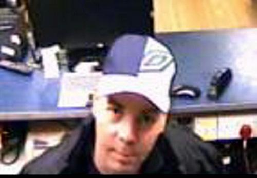 APPEAL: CCTV image of Michael Darren Jones
