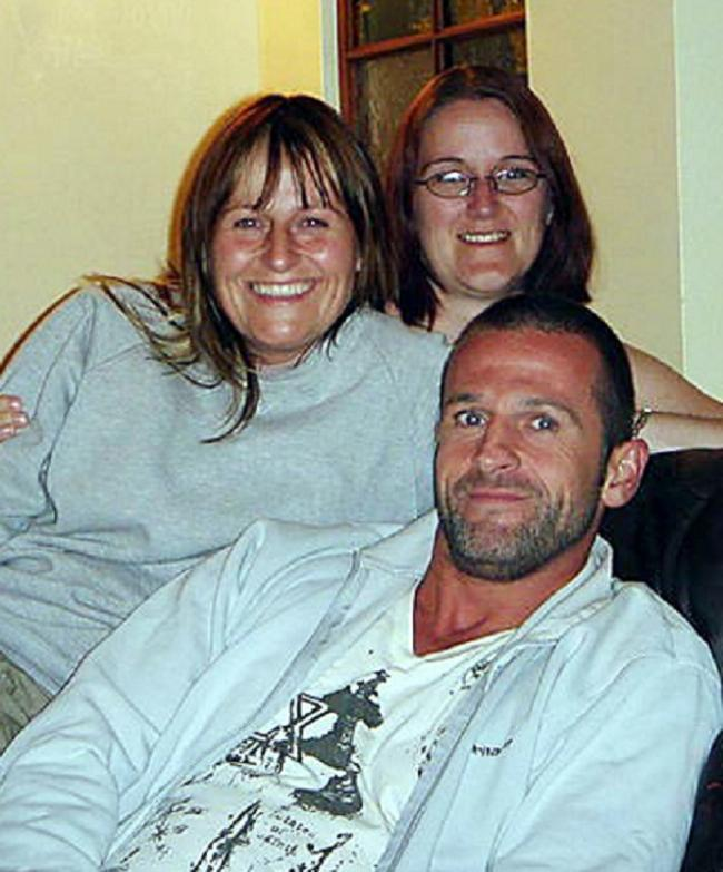 Daniel Saville who died in the Afghan plane crash, pictured with his sisters Rebecca and Emmaline