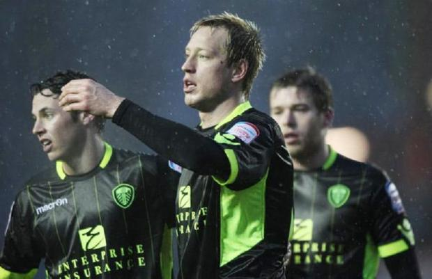 Luciano Becchio opened the scoring for Leeds but Hull hit back to shock the Elland Road crowd