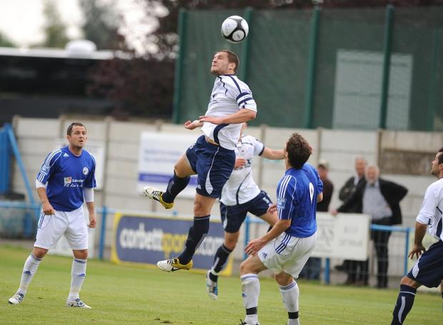 Skipper Simon Ainge is one of three Guiseley players chosen in the England C squad