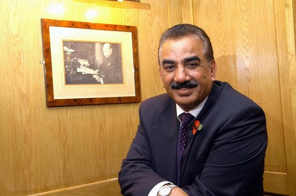 Omar Khan, the new owner of Bradford Bulls