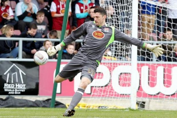 Bantams keeper Matt Duke is happy fulfilling two roles at Valley Parade