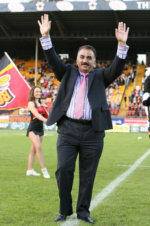 Omar Khan was given a rapturous welcome when the new Bulls owner was introduced to the Odsal crowd before kick-off but the fans had little to cheer on the pitch following a 13-try annihilation
