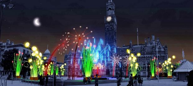 What City Park will look like during the Garden of Light event