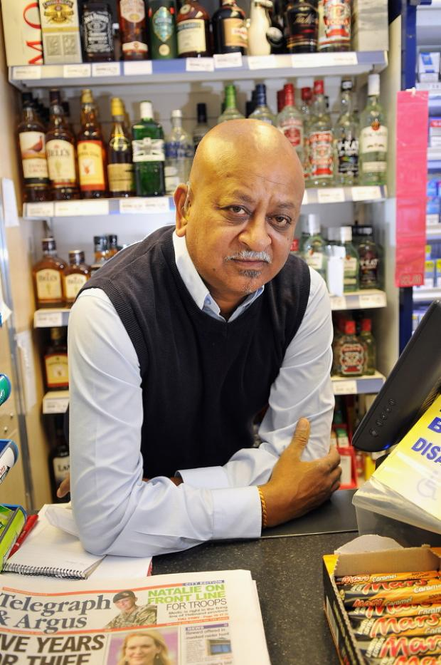Umakant Maisuria is to sell his off licence