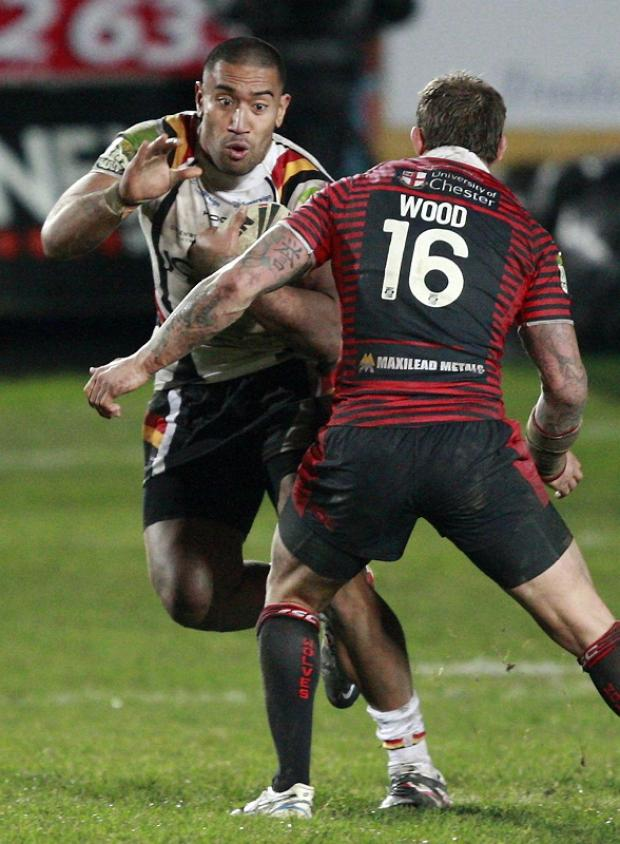 Manase Manuokafoa loves everything about being a Bradford Bulls player