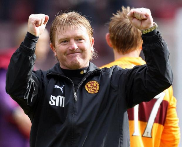 Motherwell might be sitting proudly atop the Scottish Premier League but his former club are never far from his thoughts