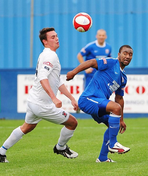 FARSLEY HOPE: Ben Jones, right, could return from injury