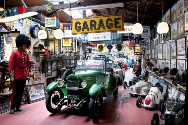 The Exmoor Classic Car Museum collection which has been auctioned