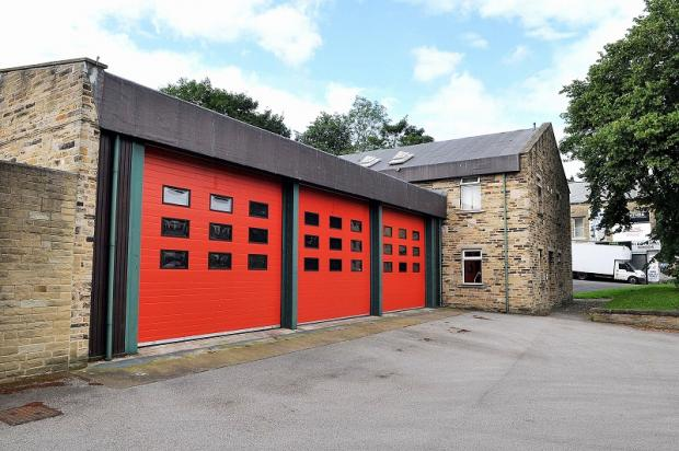 Shipley fire station, which could be closed