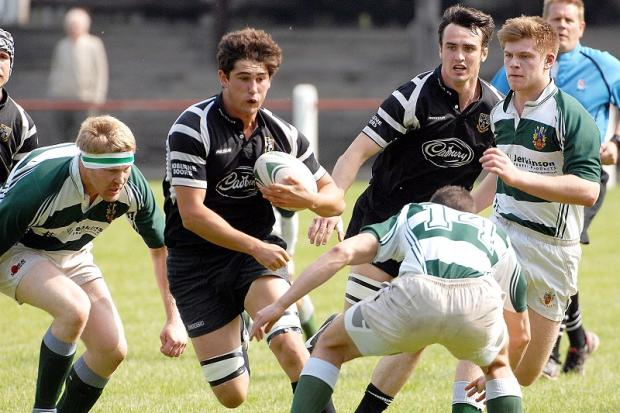 Freddie Watson is one player trying to force his way back into Otley's starting XV
