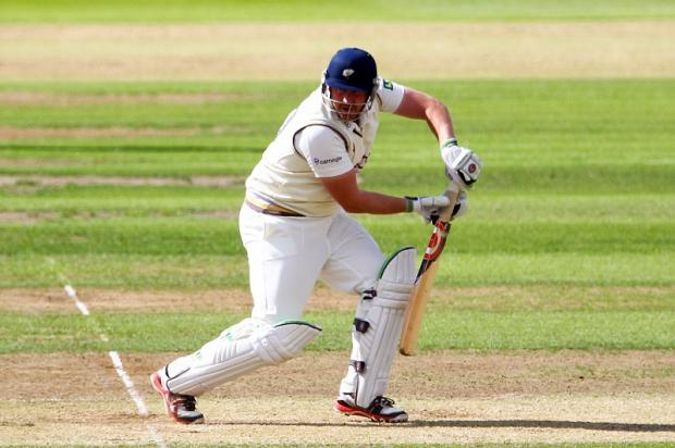 Anthony McGrath's innings of 68 was crucial for Yorkshire