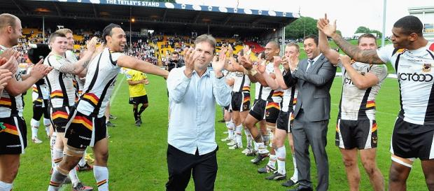 Mick Potter was named Super League coach of the year by his peers