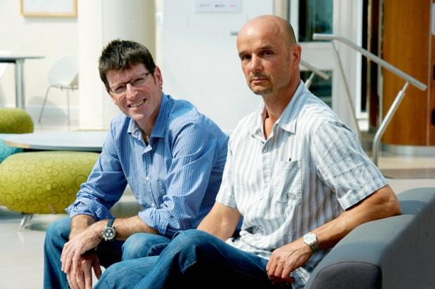 Dr Brendan Barrett (left) and Dr John Buckley