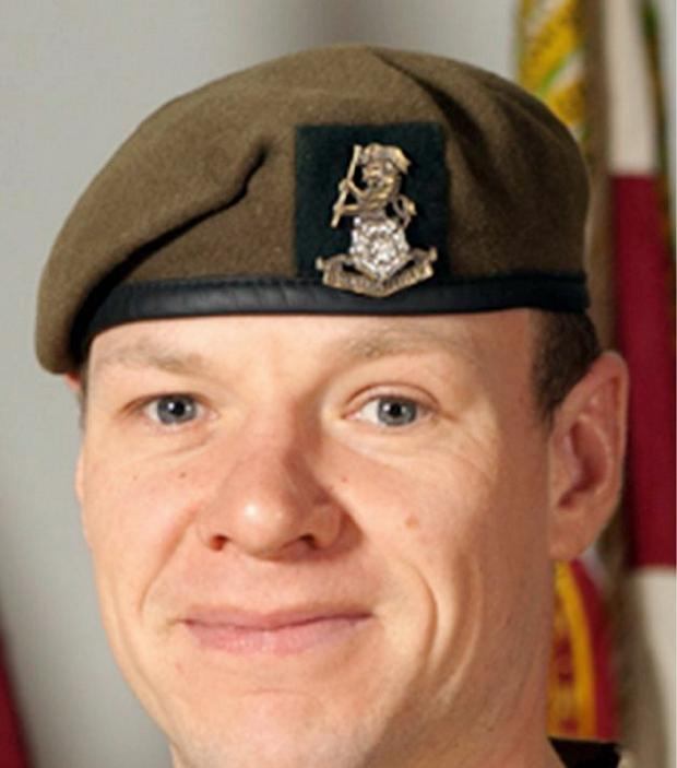 Sgt Gareth Thursby who was killed in Afghanistan