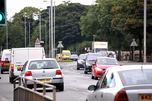 TROUBLE SPOTS: Councillors will discuss plans to prevent traffic snarl-ups on city roads next week