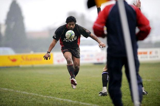 Richard Tafa scored two tries for the Bees
