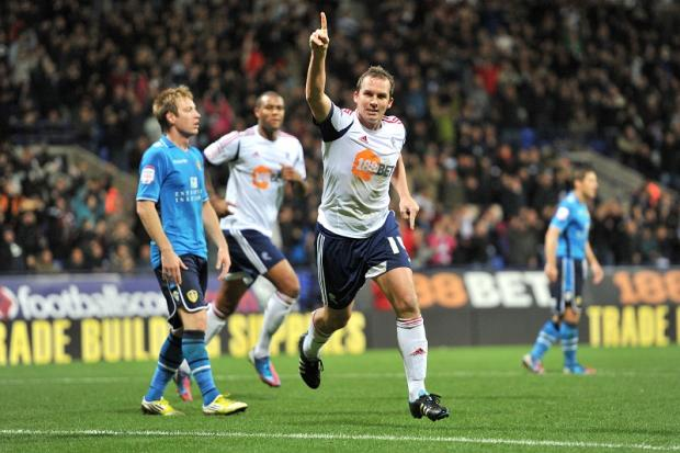Two-goal Kevin Davies proved a thorn in Leeds' side last night
