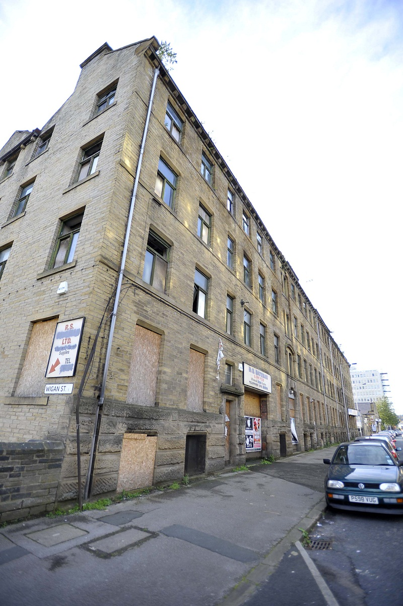 SCHEME: Laconia Building which Lawton Properties is planning to develop