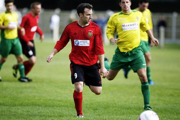 Mike Garrod was one of two Silsden players to bag hat-tricks