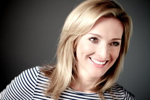TV presenter Gabby Logan