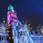 30,000 flock to Bradford's ndew light show in city centre