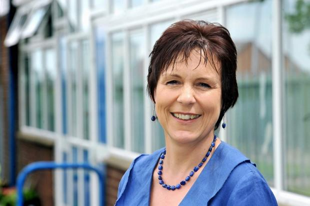 Jayne Clarke, headteacher at Ryecroft Primary Academy