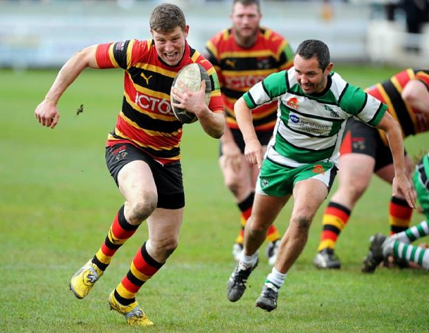 MISSING: Scrum half Richard Scull, left, is absent for the Bees tomorrow as the Wagon Laners look to gain only their second league win of the season at Penrith