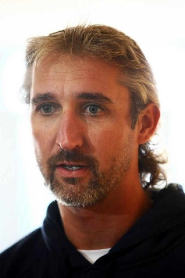 First-team coach Jason Gillespie had to take a spell as a substitute fielder for injury-hit Yorkshire