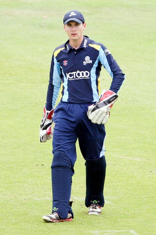 Dan Hodgson impressed with his glovework and his batting in South Africa