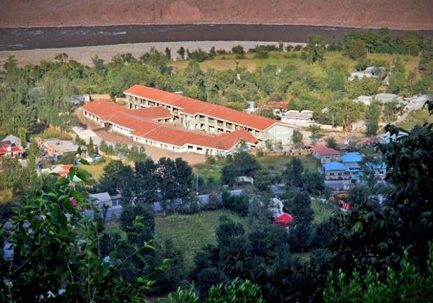 The hospital in Muzaffarabad, which has been built with funds from a T&A appeal