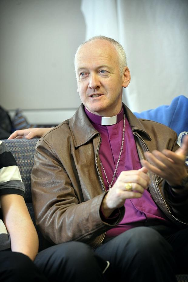 The Bishop of Bradford, the Right Rev Nick Baines