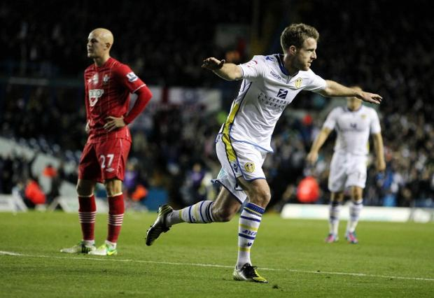 Michael Tonge, seen scoring in the Capital One Cup fourth round against Southampton earlier this season, has signed a two-and-a-half year deal
