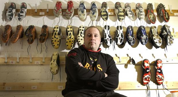 Leigh Beattie takes a breather from his Bulls duties in the Odsal boot room