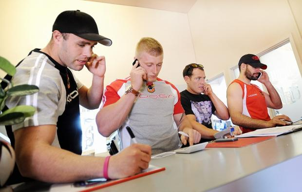 It was all hands to the pumps when news of the Bulls' financial difficulties first broke, with even the players helping to man the phones and take pledges of cash from concerned fans