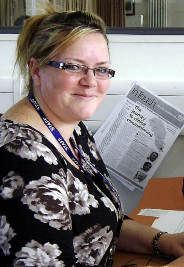 Julie Lintern, Keighley's older people's development manager