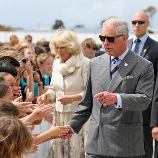 A New Zealand man has appeared in court accused of planning to throw a bucket of horse manure over the Prince of Wales and Duchess of Cornwall