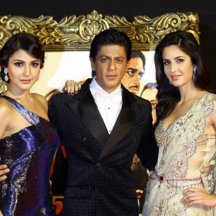 Anushka Sharma, Shah Rukh Khan and Katrina Kaif star in Yash Chopra's final film