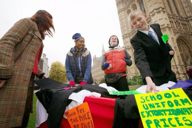 Bradford Telegraph and Argus: The campaigners in Westminster last month