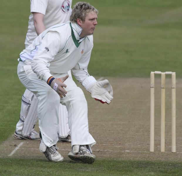 Undercliffe wicketkeeper Luke Holroyd has been banned for next season, with a two-year suspended sentence hanging over him. Picture: JCT600 Bradford League