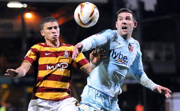 City's leading scorer Nahki Wells failed to add to his 13-goal tally for the season in Saturday's 1-0 home loss to Exeter