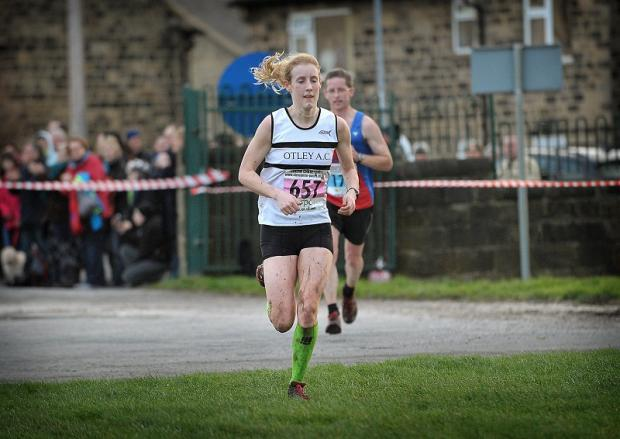 Racheal Bamford, from Otley Athletics Club, was a superb ninth in the women's race at the Abbey Dash 10K