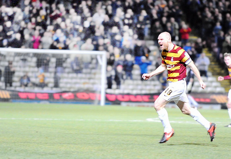 Jones goal lifts Bradford City mood after Egan agony adds to injury woe
