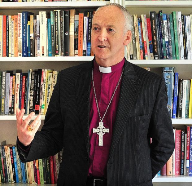 Bradford Telegraph and Argus: DISAPPOINTMENT: Bishop of Bradford the Right Reverend Nick Baines