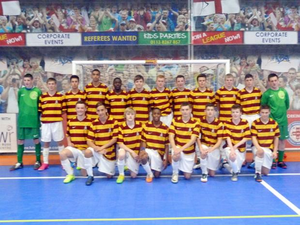City's futsal pupils improve their skills on the pitch and get an education at the same time