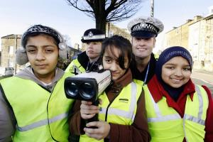 Keighley students join in to stop speeders