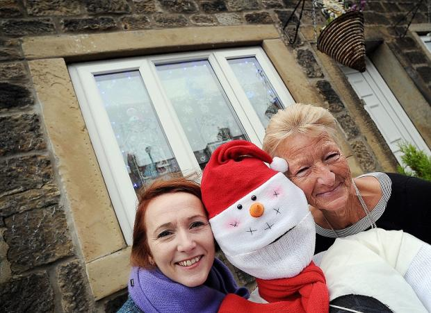 Calverley villagers Gael Timbers and Cath O'Connor are backing the appeal